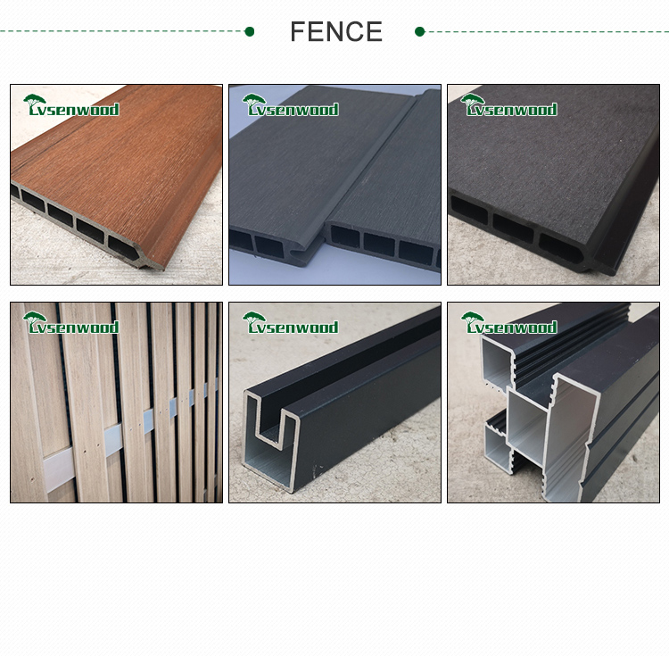 Factory Price Set Wood Plastic Composite Wpc DIY Decking Hs Code