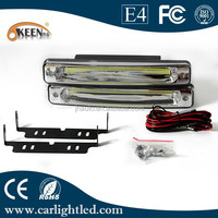 Good Quality COB Daytime LED Running Lights 12V Car Universal DRL Super Bright Car Day Time Lamps For All Cars