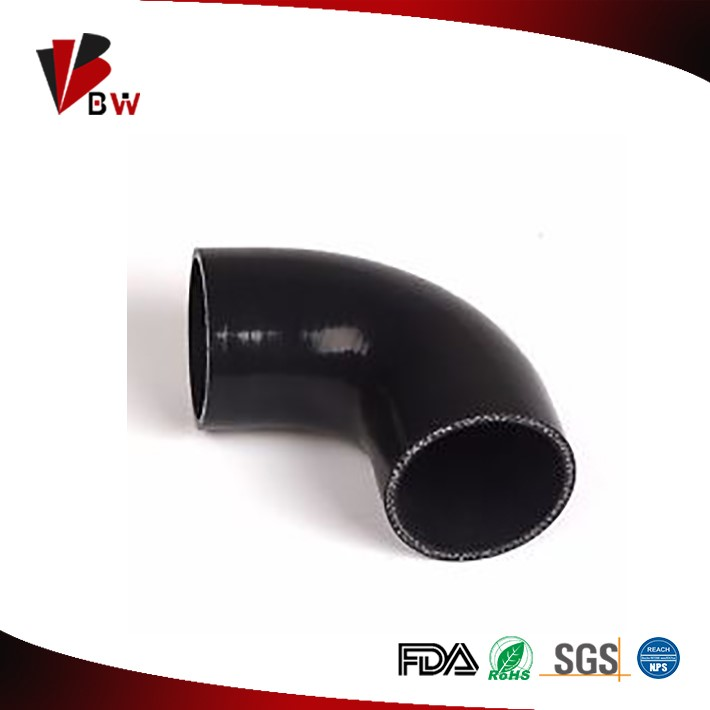 Bottom price hot sale 90 degree elbow silicon rubber hose