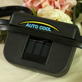 auto cool solar energy fan on the car