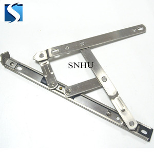 ss201 18mmX2.5mm 12inch 4 bar casement window hinges friction stay