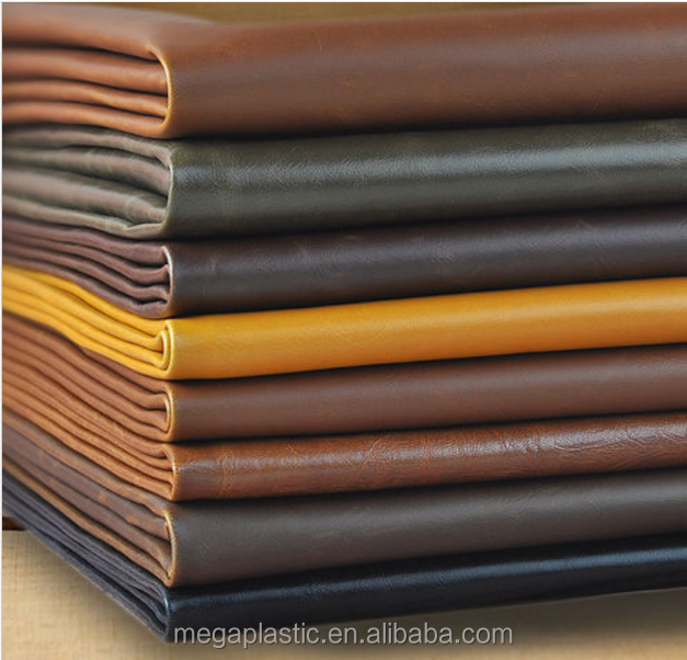 Waterproof Synthetic Leatherette Faux PU Leather Upholstery fabric Material