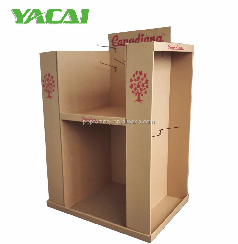 4-sided POP/POS Cardboard Pallet Display for Pet products,T-Shirt /Garment pallet display