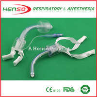 HENSO Medical PVC Cuffed Uncuffed Tracheostomy Tube