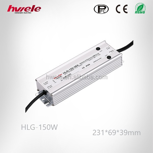 150W 12V Waterproof LED driver IP67 with SGS,CE,ROHS,TUV,KC,CCC certification