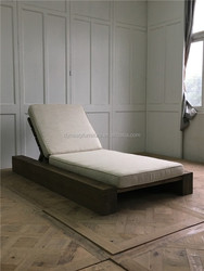 rustic style leisure furniture outdoor sofa bed