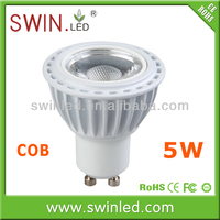 cool white 5w gu10 led long neck lamp