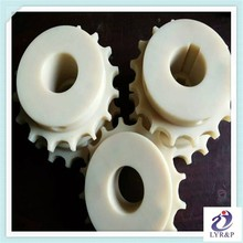 Nylon66 Spur wheel and small plastic gear wheel