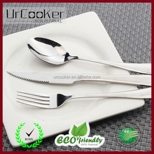 Home Use Stainless Steel Western Tableware 3-Piece Dinnerware Set knife fork spoon,Cutlery