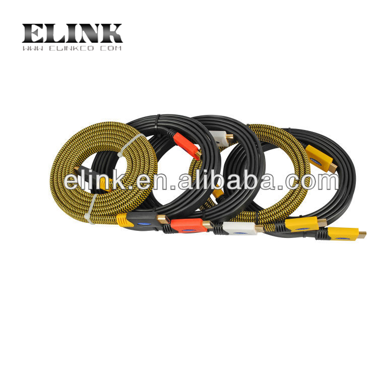 Main products of Flat hdmi cable with Ethernet for DVD and HDTV