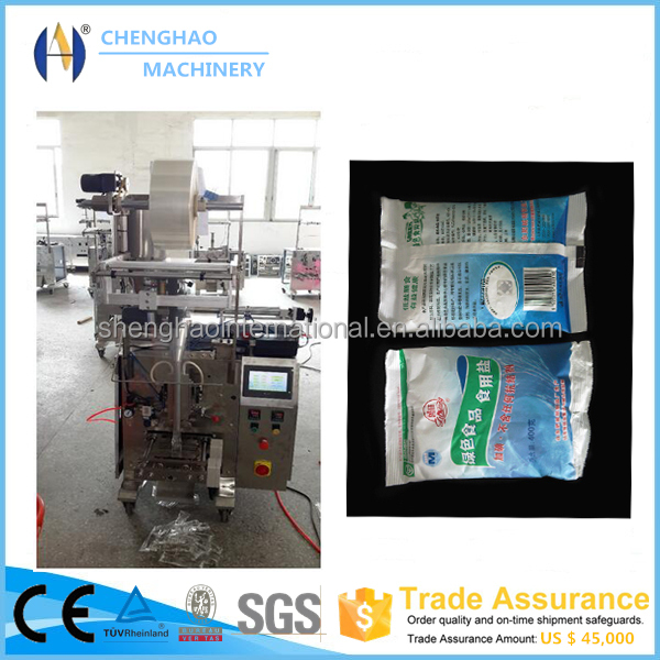 Automatic Small Spice/Sugar/Liquid/Ketchup/Tomatopaste/Salt/Water/Shampoo Sachet Packaging Machine