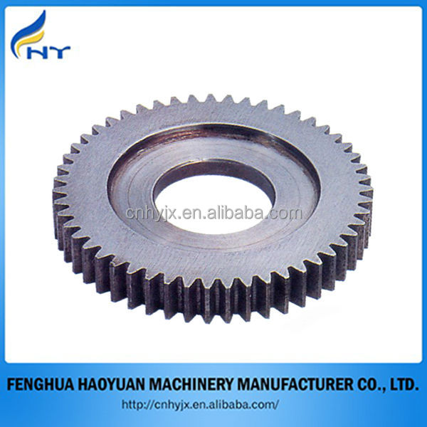 High quality metal large spur gear for transmission parts