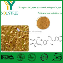 High quality flaxseed extract/secoisolariciresinol diglucoside 20-40%/plant extract