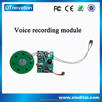 Greeting card programmable Sound Module/ Voice chip,recorder chip