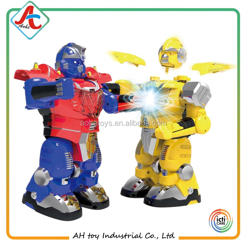 humanoid RC battle robot toy for kid 8 age+