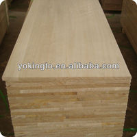 paulownia edge glued solid wood panels