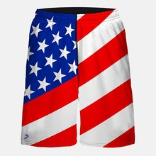 Usa flag shorts women, Usa flag shorts, Flag boxing shorts