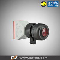 Hot Sale IECEx&ATEX Certified Explosion-proof Signal Lamp with Push Button