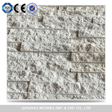 White Marble Ledge Culture Stone for Wall Decoration Stone