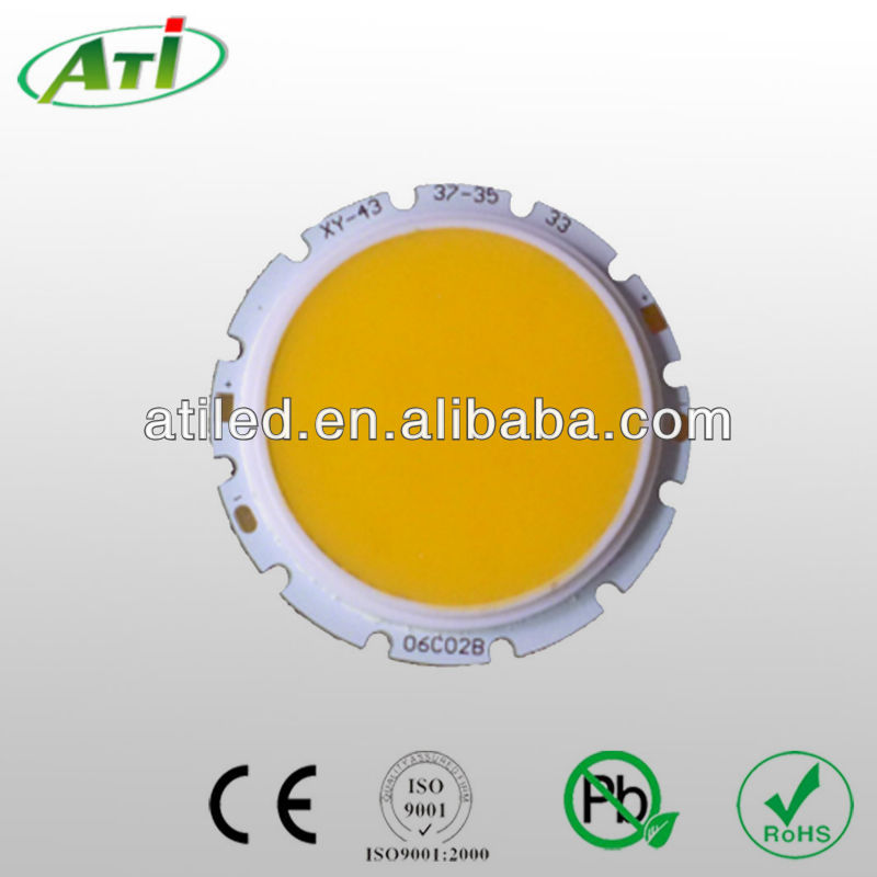 COB LED 10W white color for lighting, ATI factory 3 years warranty