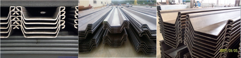 High quality tangshan hot rolled steel sheet pile