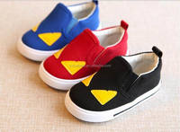 Fashional little monster baby boy canvas shoes