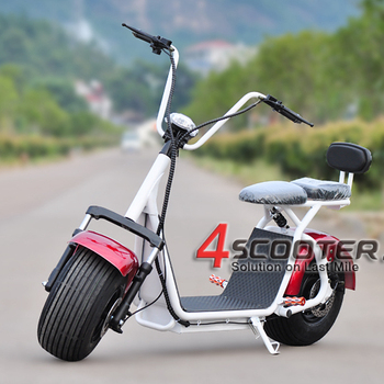 Best quality citycoco dropshipping fat tire electric scooter
