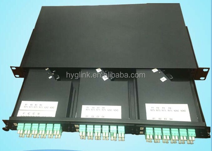 MPO Terminal box with 72 CORE om3 fiber patch cord