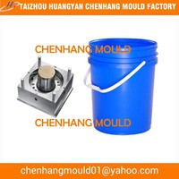 Plastic Mould for White Paint Bucket, 10L, 20L, 30L