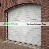 Luxury Automatic Garage Doors/Galvanized Steel Garage Door PU foam Insulation/Best Quality Sectionl Garage Door Made in China