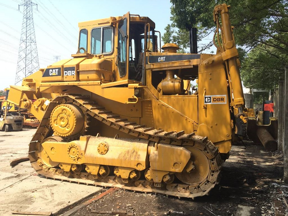 good performance and working condition used cat d8r bulldozer caterpillar second-hand dozer d8 in very lowest price for sale CAT