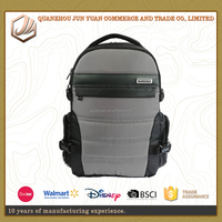 1680D material laptops backpacks use with strong fabric travel computer backpack