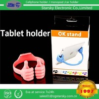 SK237# HOT OK Stand Cellphone Mounts holders for ipad, iphone, cellphones, Tablet PC Mounts stand holders Thumb stand Holders