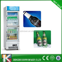 open top small portable refrigerated display cooler for sale