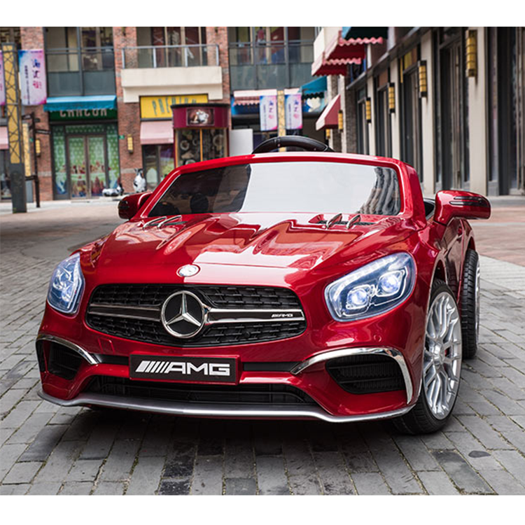 Hot selling licensed Mercedes Benz SL65 AMG 12V battery ride on kids electric car