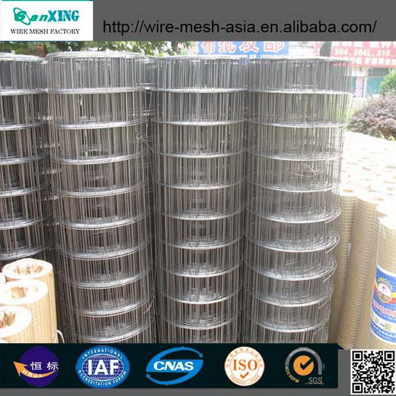 Anping fencing net iron wire mesh / highway guard rail price / galvanized welded wire mesh