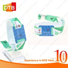 DTB Hot Selling NFC Fabric RFID Wristband