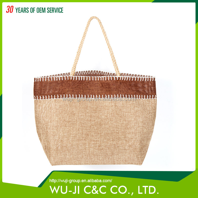 Eco-friendly foldable polyester tote bag for shopping