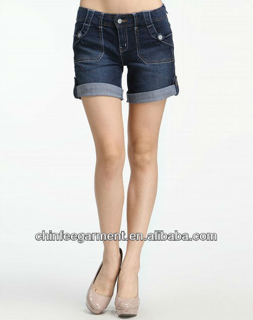 Fashion Short Jeans Women