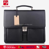 Mens New Messenger Bag Laptop Bag PU Leather Briefcase