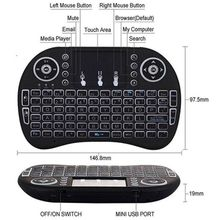 i8 backlit wireless keyboard and mouse 2.4 for Andriod TV box