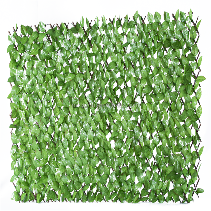 uv outdoor willow trellis fence for decoration