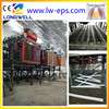 Longwell High Quality EPS thermocol decoration production line machine