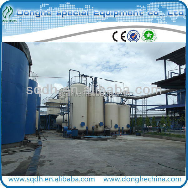 latest technology waste engine oil recycling equipment with CE and ISO