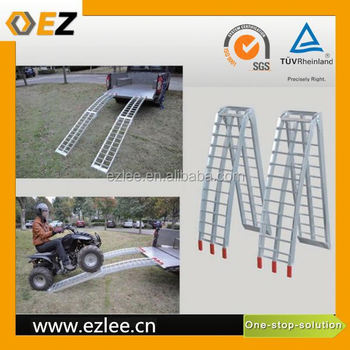 motorcycle truck aluminum ATV loading ramp