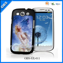 2013 new design 3D mobile case for iphone Samsung with 3D or flip pattern