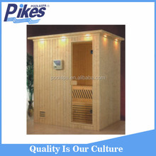 Luxury Portable Different Size Wooden Russian Sauna Room for Family