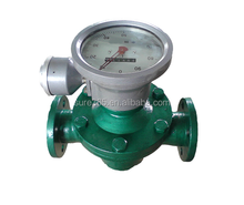 3 inch 80mm smith meter PD rotary vane digital fuel oil flow meter gravity flowmeter