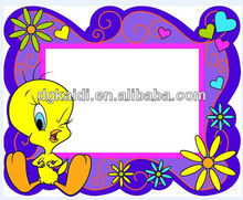 New design high quality plastic Soft PVCcustomized decoration Photo Frame