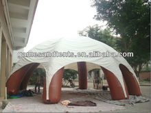 Outdoor promotion inflatable tent with six legs F4011